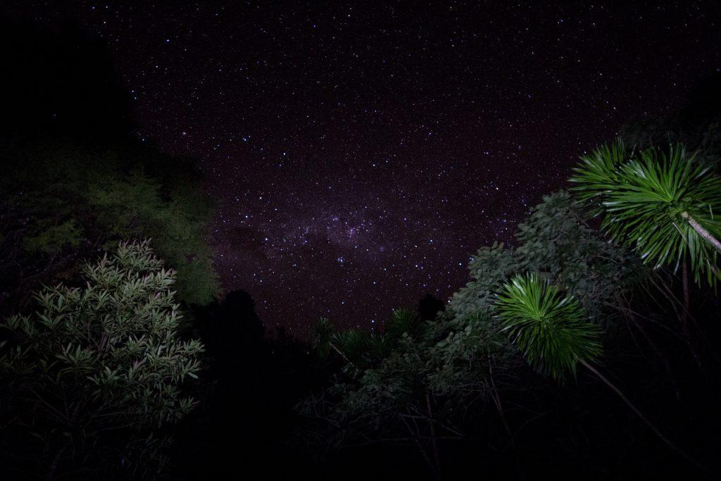 Sternenhimmel im Montagne d'Ambre
