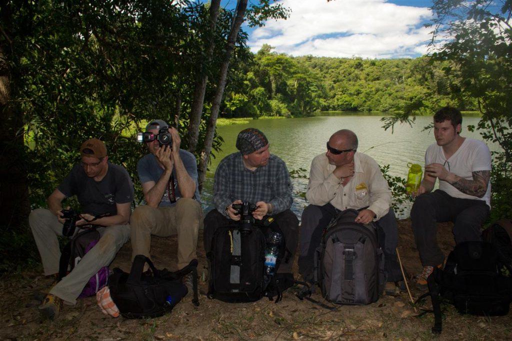 Gruppe am Lac Ravelobe