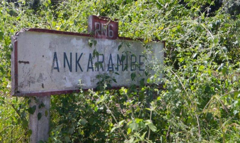Ortsschild Ankaramibe