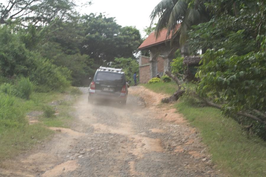 Straße nach Ankify