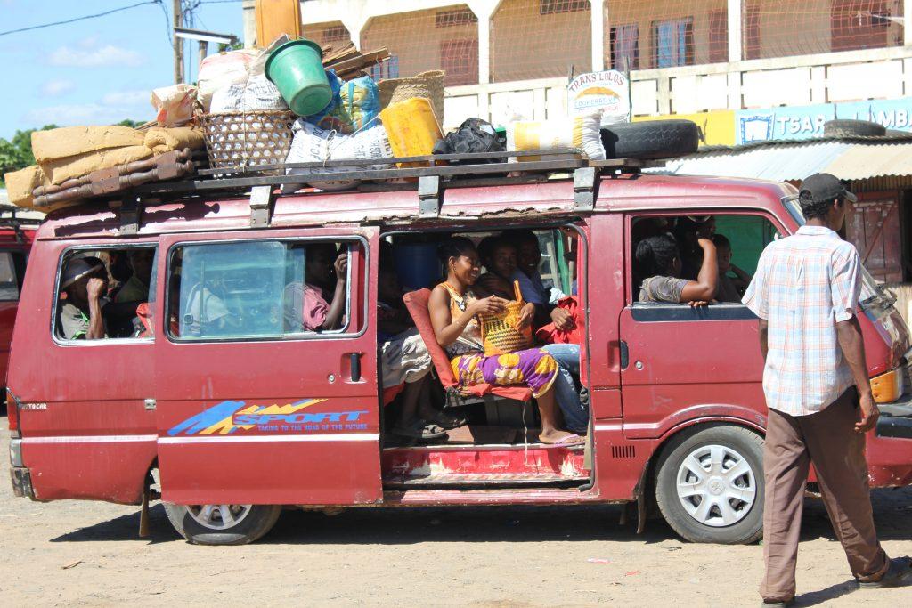 Taxibrousse in Antananarivo