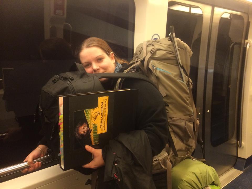 """Unterwegs mit """"ganz leichtem"""" Gepäck"""