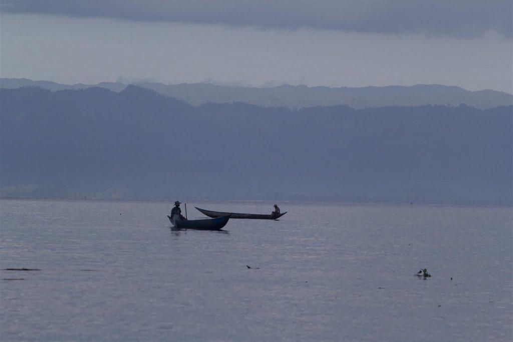 Fischer vor Nosy Mangabe