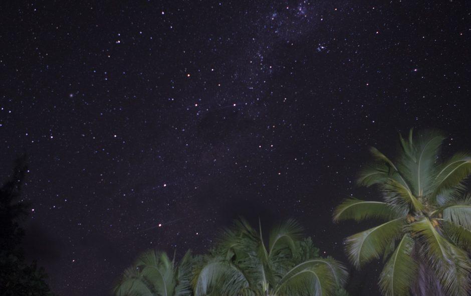Lagerfeuer unter'm Sternenhimmel