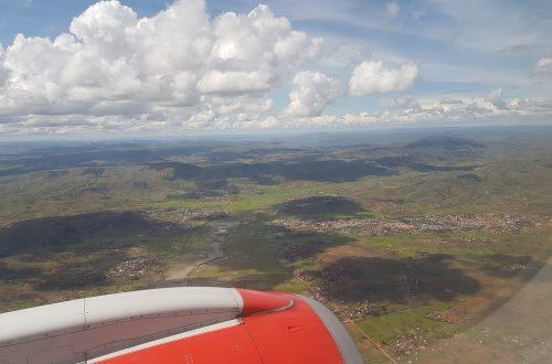 Flug über Madagaskar