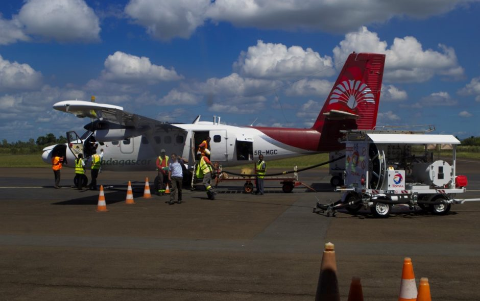 Flugzeug nach Tamatave