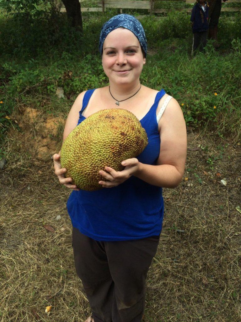 Ich und die Jackfruit