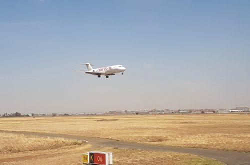 Flug nach Madagaskar