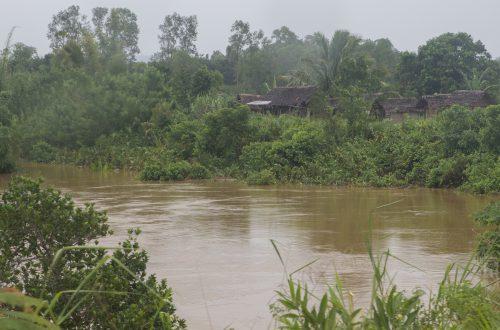 Hochwasser nach Zyklon Eliakim