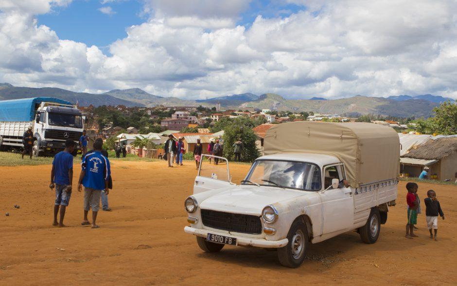 Der Zebumarkt von Ambalavao