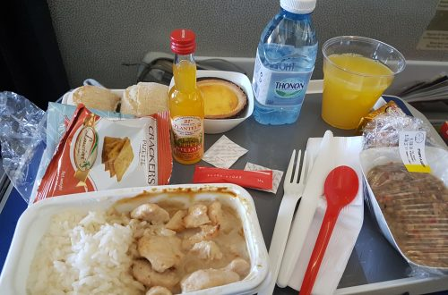 Essen bei Air France