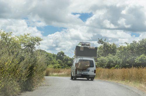 Auf dem Weg zum Montagne d'Ambre
